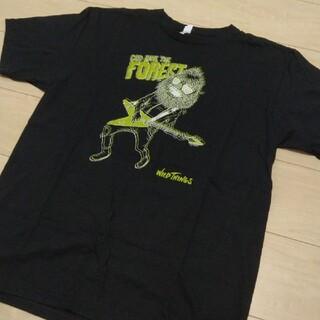 ワイルドシングス(WILDTHINGS)のWILDTHINGS★FUJI ROCK FOREST Tシャツ/ブラック/L(Tシャツ/カットソー(半袖/袖なし))