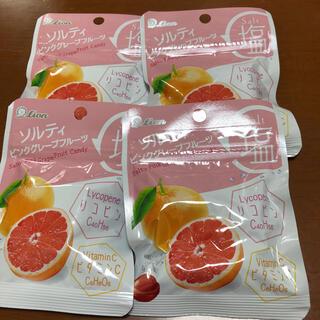 ソルティ ピンクグレープフルーツ 新品未開封 4袋(菓子/デザート)