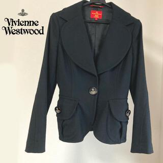 ヴィヴィアンウエストウッド(Vivienne Westwood)のVivienneWestwood ラブジャケット Mサイズ ブラック コート(テーラードジャケット)