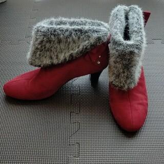 ESPERANZA - リボン付き ショートブーツ