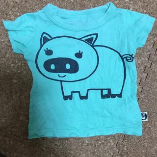 ラゲッドワークス(RUGGEDWORKS)のRUGGED WORKS  半袖Tシャツ ブタさん(Tシャツ)