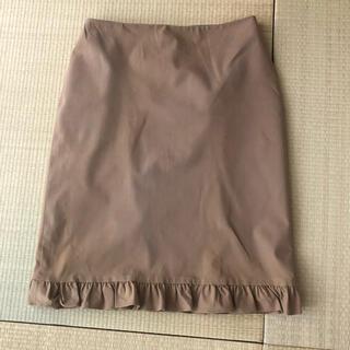 ラルフローレン(Ralph Lauren)のラルフローレン ストレッチ フリルスカート🌷(ひざ丈スカート)