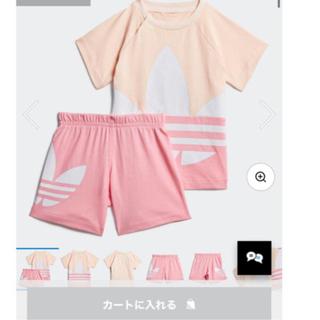 アディダス(adidas)のアディダス キッズ セットアップ Tシャツ90(Tシャツ/カットソー)