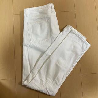 アーバンリサーチ(URBAN RESEARCH)のアーバンリサーチ ホワイトチノパン M 日本製(デニム/ジーンズ)