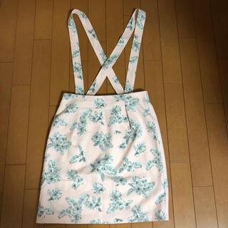 ディップドロップス(Dip Drops)のサロペット スカート(ひざ丈スカート)