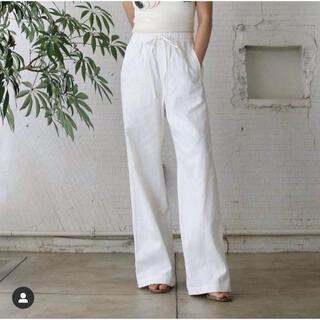 ファビアンルー(Fabiane Roux)のnowos military twill easy pants 21ss(カジュアルパンツ)