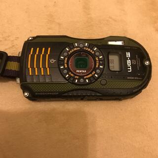 ペンタックス(PENTAX)のPENTAX WG-3 GPS Green メダカ様専用(コンパクトデジタルカメラ)