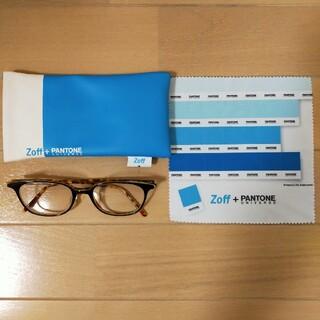 ゾフ(Zoff)の【美品】Zoff + PANTONE UNIVERSE メンズ 眼鏡(サングラス/メガネ)