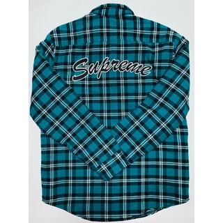 シュプリーム(Supreme)の Supreme Arc Logo Quilted Flannel Shirt(シャツ)