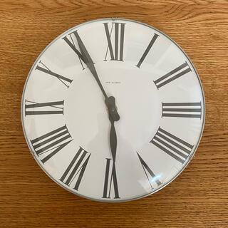 アルネヤコブセン(Arne Jacobsen)の値下げ|中古品 ARNE JACOBSEN 壁掛け時計(掛時計/柱時計)