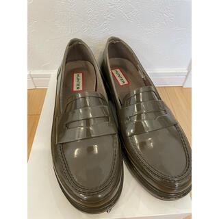 ハンター(HUNTER)のHunter レインローファー UK4(ローファー/革靴)