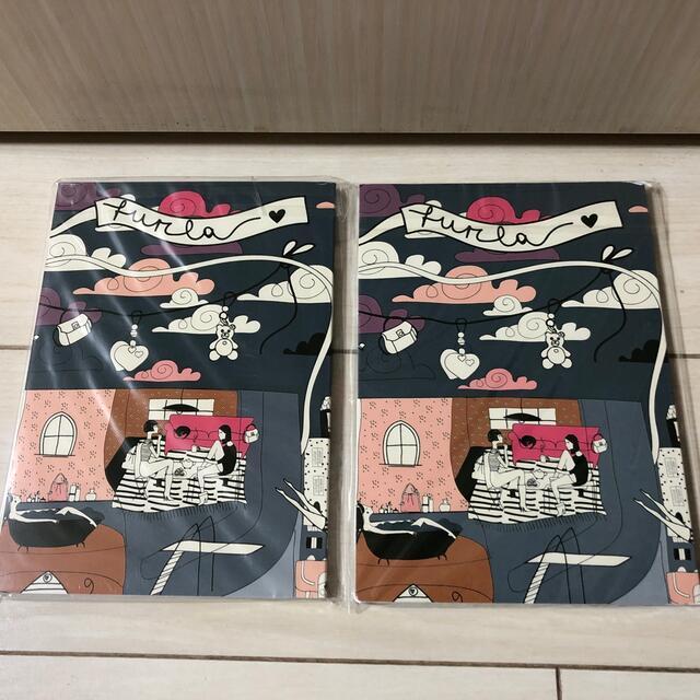 Furla(フルラ)のフルラ ミニノート  2冊 インテリア/住まい/日用品の文房具(ノート/メモ帳/ふせん)の商品写真