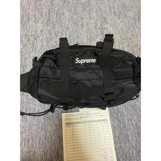 シュプリーム(Supreme)のsupreme Waist Bag シュプリーム ウエストバッグ ブラック 黒(ボディーバッグ)