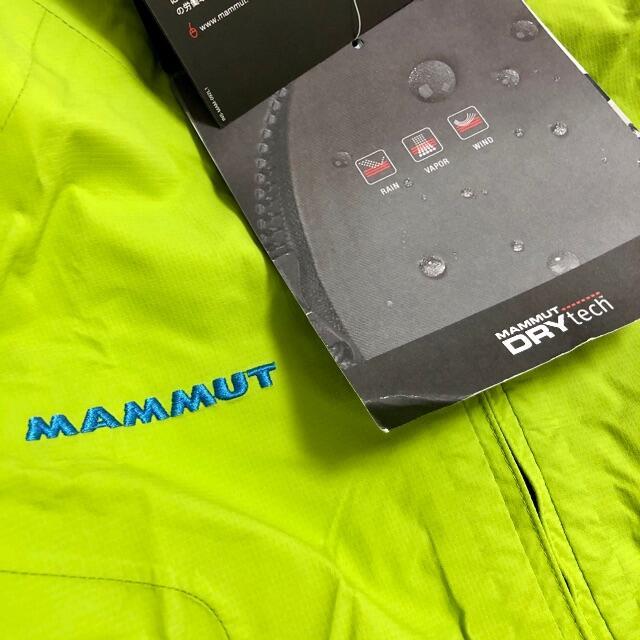 Mammut(マムート)の未使用! MAMMUT ジャケット Sサイズ  スポーツ/アウトドアのアウトドア(登山用品)の商品写真