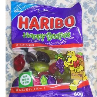 HARIBO ハッピーグレープ グミ  80g (菓子/デザート)