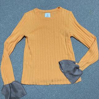 オキラク(OKIRAKU)のロンT フリル(Tシャツ(長袖/七分))