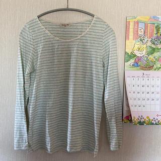 サマンサモスモス(SM2)のSM2*ボーダー長袖Tシャツ(Tシャツ/カットソー(七分/長袖))