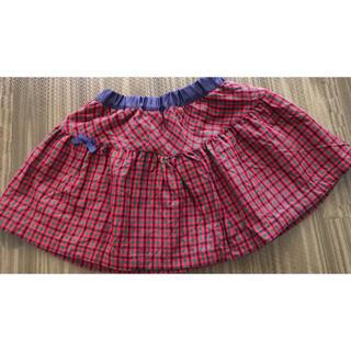 familiar - ファミリア リバーシブルスカート 美品!