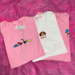 ダブルシー(wc)の《PINKY様専用》 W♡C Tシャツ 2枚、ロングTシャツ 1枚(Tシャツ(半袖/袖なし))