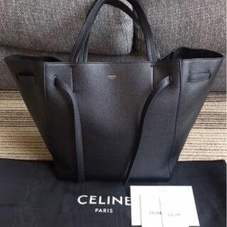 celine - CELINE カバ ファントム スモール ブラック トート