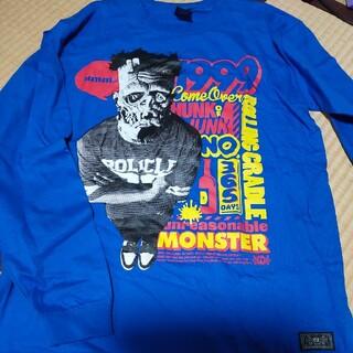 ローリングクレイドル(ROLLING CRADLE)のロリクレ 青ロンT (Tシャツ/カットソー(七分/長袖))