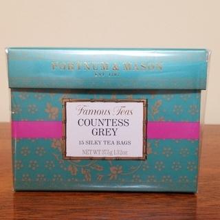 カウンテスグレイ シルキーティーバッグ紅茶 フォートナム&メイソン(茶)