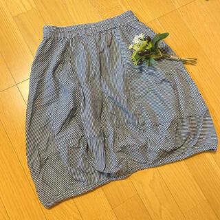 ライトオン(Right-on)のちぃちょこさま♪ MPS 150㎝ ストライプスカート(スカート)