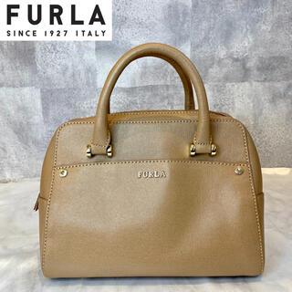フルラ(Furla)の【FURLA】フルラ エレナ レザー サッチェル モカベージュ ハンドバッグ(ハンドバッグ)