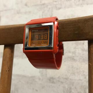 ベビージー(Baby-G)のCASIO  Baby−G オレンジ(腕時計)