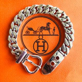 Hermes - 極上正規品 HERMES(エルメス ブックルセリエ サイズMM 喜平ブレスレット