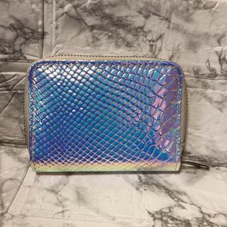 ザラ(ZARA)の未使用 ホログラムオーロラキラキラお財布☺︎(財布)