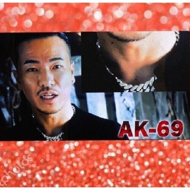 AK-69着用モデル☆ 極太マイアミ キューバン ネックレス 喜平 メンズのアクセサリー(ネックレス)の商品写真