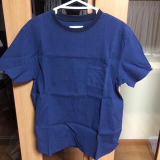ドアーズ(DOORS / URBAN RESEARCH)の【美品】Tシャツ urbanresearch ネイビー ストレッチ素材(シャツ)