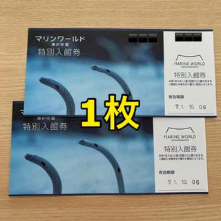 マリンワールド 福岡 海の中道 入館券 2名分(水族館)