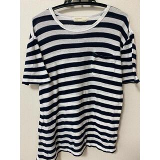 バックナンバー(BACK NUMBER)のボーダー Tシャツ メンズ(Tシャツ/カットソー(半袖/袖なし))