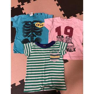 エフオーキッズ(F.O.KIDS)のTシャツ 3枚 セット 80cm(Tシャツ)
