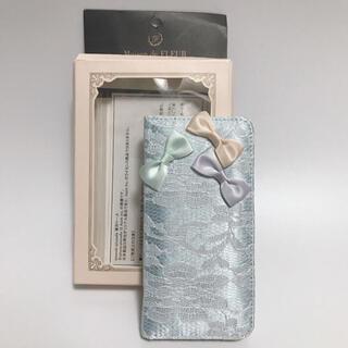 メゾンドフルール(Maison de FLEUR)の新品未使用◆Maison de FLEUR◆iPhone 手帳型カバー◆ケース(iPhoneケース)