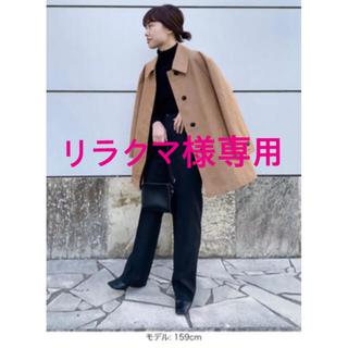 ユニクロ(UNIQLO)の☆ UNIQLO U ☆ ステンカラー ショートコート ゆうこす ももち(スプリングコート)