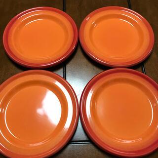 エミールアンリ(EmileHenry)のエミール・アンリ ケーキ皿 サラダ 4枚セット プレート(食器)