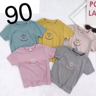 ピーナッツ(PEANUTS)の《新品》 チャーリーブラウン Tシャツ 90cm(Tシャツ/カットソー)