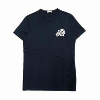 モンクレール(MONCLER)のMONCLER モンクレール ネイビー ワッペン Tシャツ サイズS(Tシャツ/カットソー(半袖/袖なし))