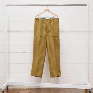 アンユーズド(UNUSED)のUNUSED/アンユーズド UW0786 check pants(スラックス)