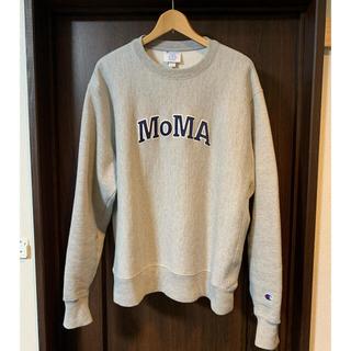 Champion - Lサイズ MoMA Champion スウェット グレー
