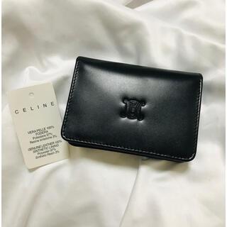 celine - 未使用 セリーヌ ブラゾン型押し カードケース