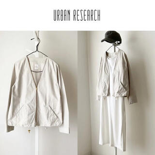 URBAN RESEARCH - URBAN RESEARCH Vネックブルゾン