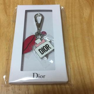 クリスチャンディオール(Christian Dior)のDIOR クリスチャンディオール キーホルダー  チャーム キーリング(キーホルダー)