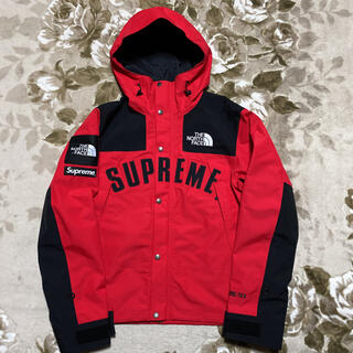 Supreme - Supreme north face arc logo ジャケット パーカー 赤