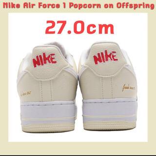 ナイキ(NIKE)のNIKE AIR FORCE 1 '07 PREMIUM ナイキ ポップコーン (スニーカー)