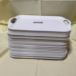 トレーホワイト メラミンコート DAISO 30個 36.2×25.2×2.2(その他)
