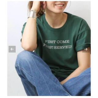 ドゥーズィエムクラス(DEUXIEME CLASSE)のCALUX/キャラクス FIRST COME FIRST SERVED Tシャツ(Tシャツ(半袖/袖なし))